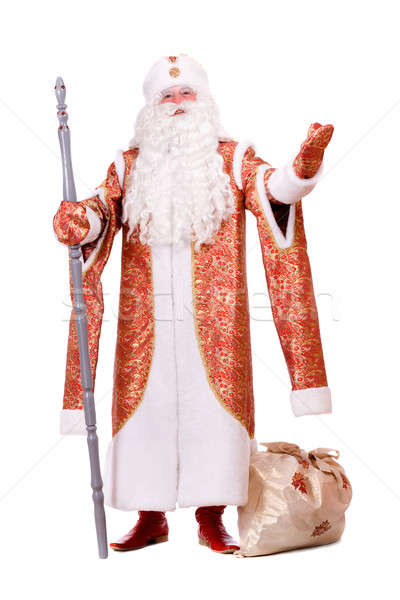 Russian Christmas character Ded Moroz  Stock photo © acidgrey