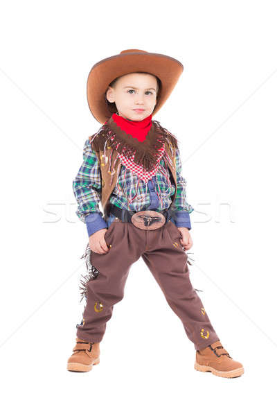 Funny little boy Stock photo © acidgrey