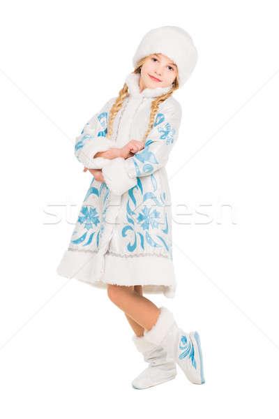 Nice little girl Stock photo © acidgrey