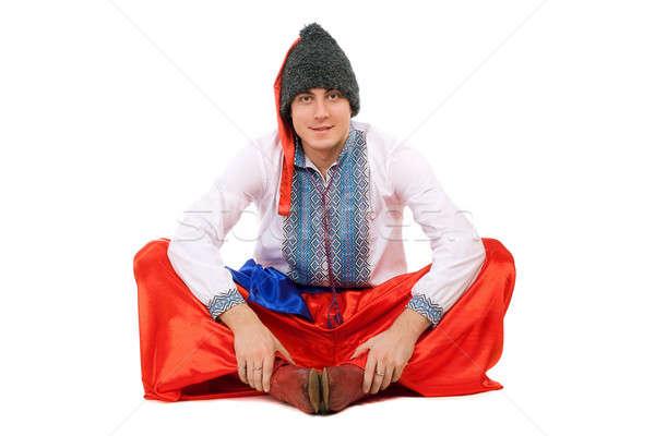 Young man. Isolated Stock photo © acidgrey