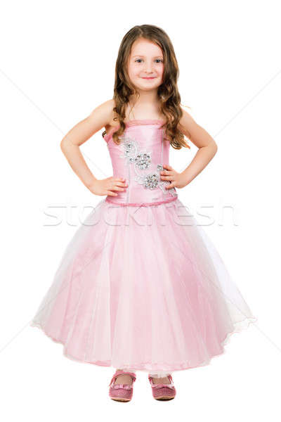 Little smiling girl Stock photo © acidgrey