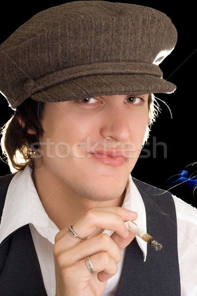 Young man Stock photo © acidgrey