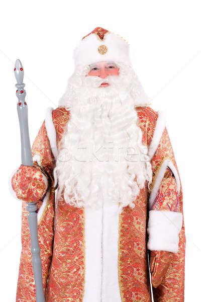 Russian Christmas character Ded Moroz Stock photo © acidgrey
