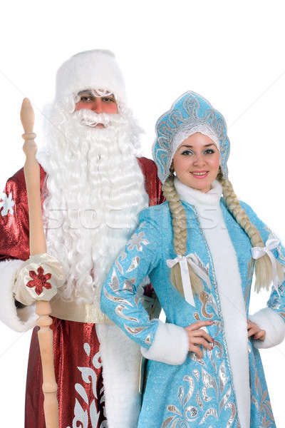 Russian Christmas characters Stock photo © acidgrey