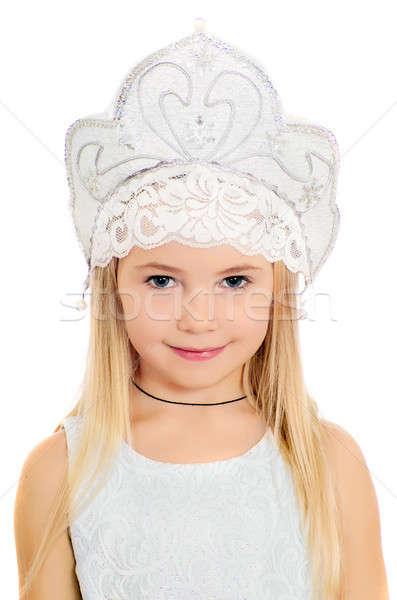 portrait of charming little girl  Stock photo © acidgrey