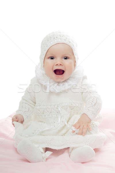 Baby girl Stock photo © acidgrey