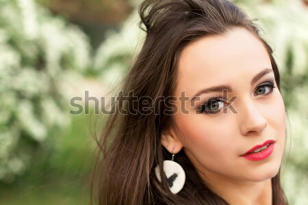 Young attractive woman Stock photo © acidgrey