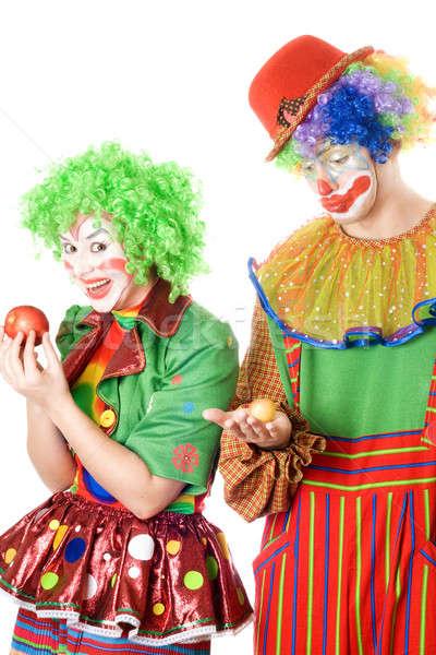 Inequity in the world of clowns Stock photo © acidgrey