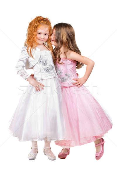 Two little girls Stock photo © acidgrey
