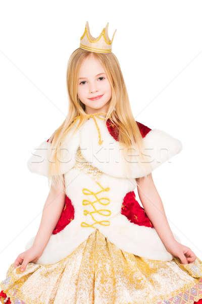 Zdjęcia stock: Portret · piękna · dziewczyna · piękna · dziewczynka · jak