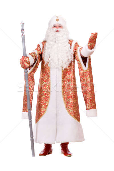Ded Moroz with the stick Stock photo © acidgrey