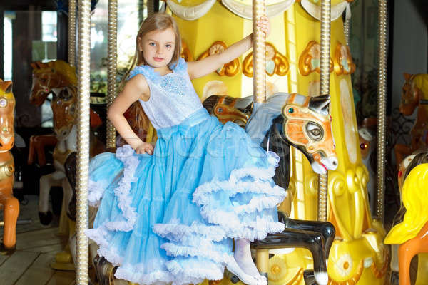 Pretty little girl Stock photo © acidgrey
