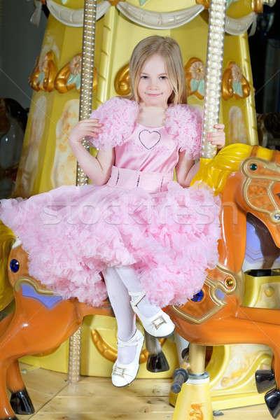 Stock photo: Beautiful little girl