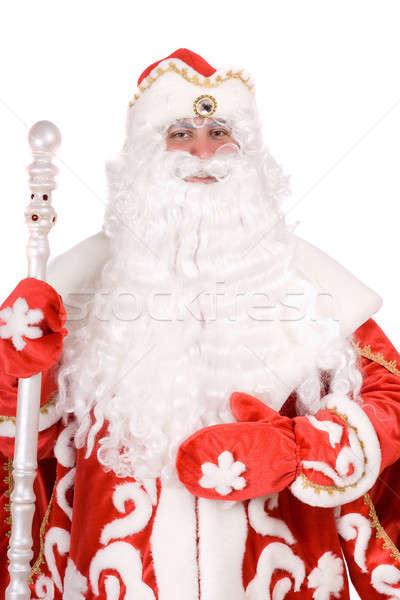 父 霜 肖像 ロシア クリスマス 文字 ストックフォト © acidgrey