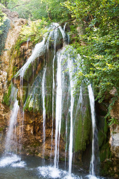 Waterfalls of Dzhur-dzhur in Crimean mountains Stock photo © acidgrey