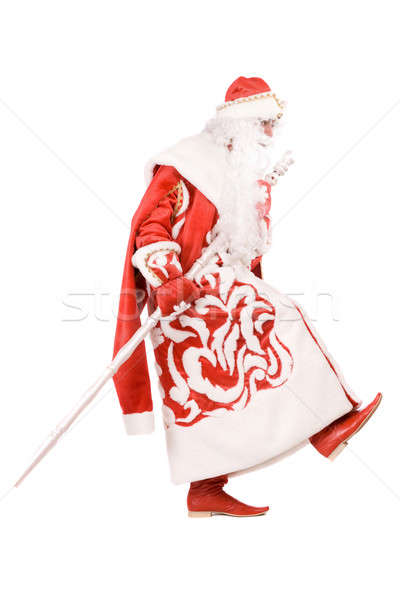Funny Ded Moroz (Father Frost) Stock photo © acidgrey