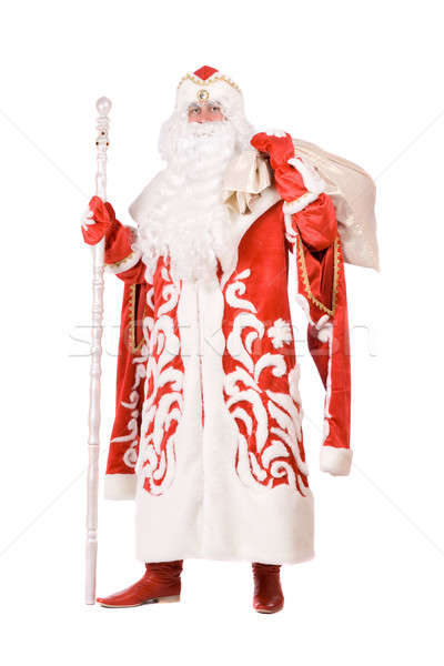Ded Moroz (Father Frost) with a bag Stock photo © acidgrey