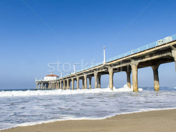 West Coast Pier Stock photo © actionsports