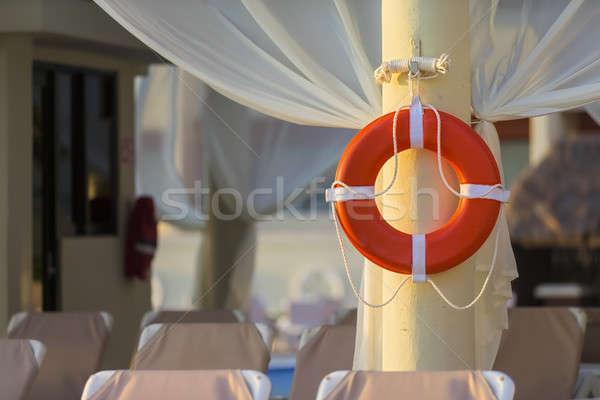 Бассейн Карибы курорта пляж воды солнце Сток-фото © actionsports