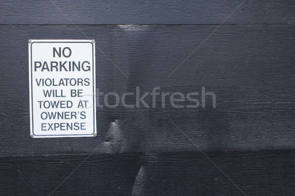 No Parking Sign Stock photo © actionsports