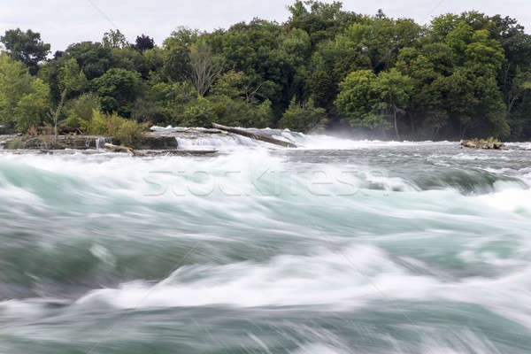 Stockfoto: Niagara · Falls · naam · drie · watervallen · internationale