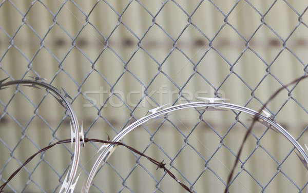 Razor Wire Stock photo © actionsports