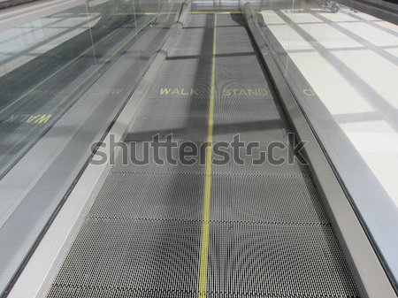 Moving Walkway Stock photo © actionsports