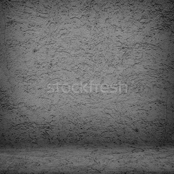 dark room with bare wall Stock photo © adam121