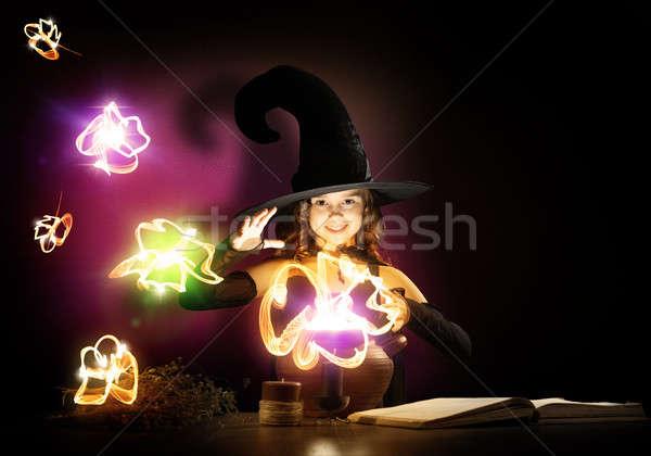 Little witch Stock photo © adam121