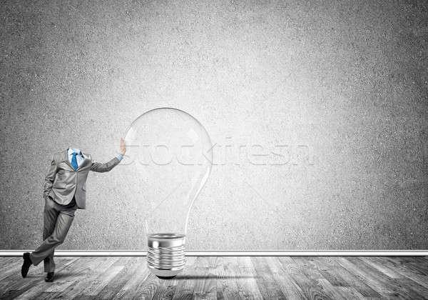 He possesses creative thinking Stock photo © adam121