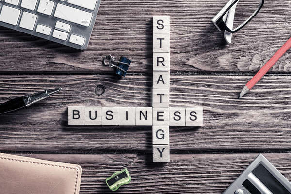 Foto stock: Negócio · tabela · elementos · jogo · maki · palavras
