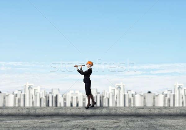 Woman engineer Stock photo © adam121