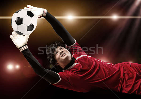 Best goalkeeper Stock photo © adam121