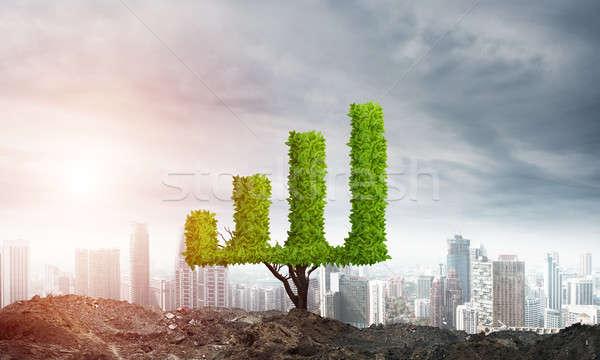 Stockfoto: Investering · inkomen · markt · groei · succes