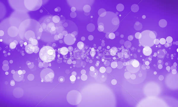 Bokeh résumé couleur floue lumières neige Photo stock © adam121
