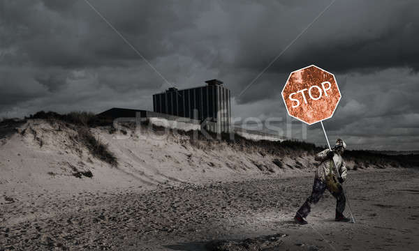 Stock photo: Apocalypse and disaster concept