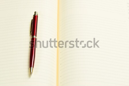 pen and open notepad Stock photo © adam121