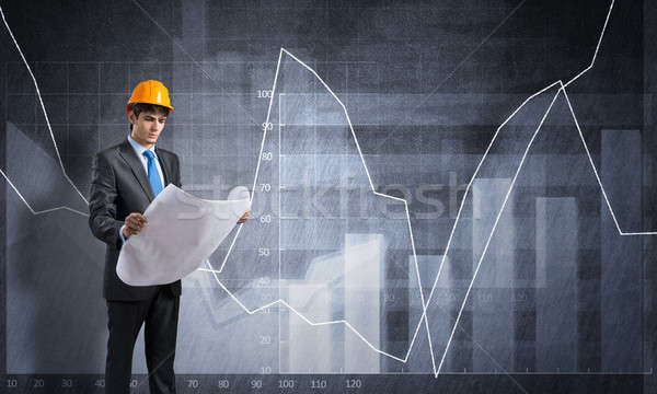 Making a plan Stock photo © adam121