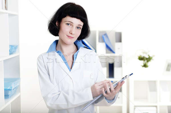doctor with a tablet Stock photo © adam121