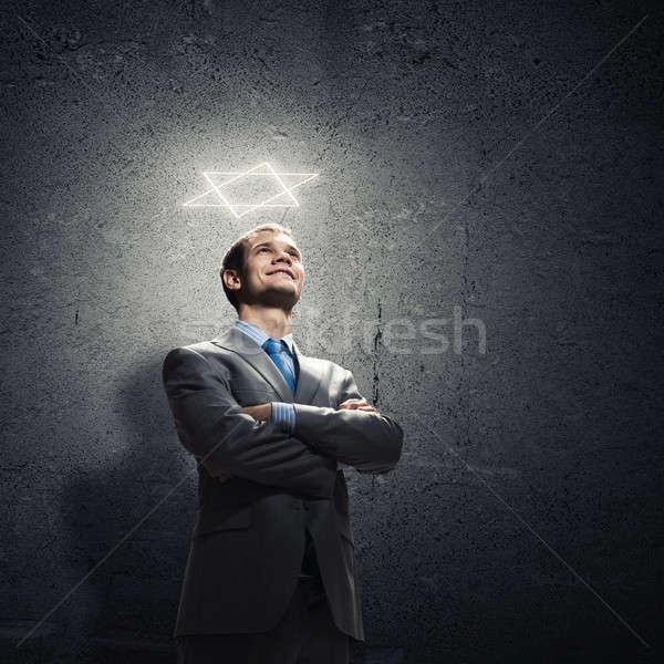 Confident businessman Stock photo © adam121