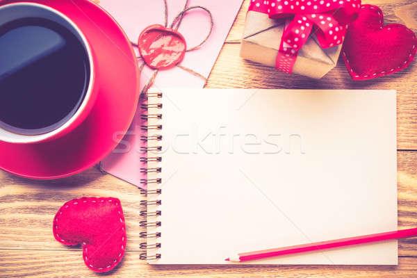 Writing love confession Stock photo © adam121
