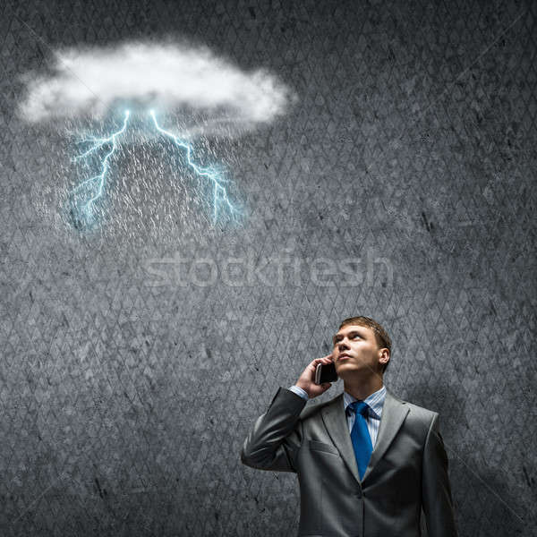 Stock photo: Challenge in business