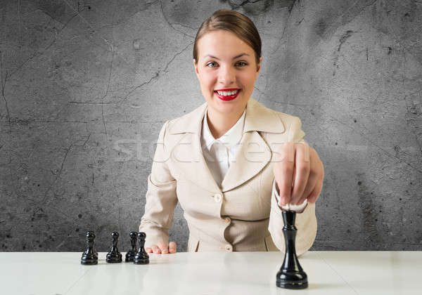 Tactics in business Stock photo © adam121