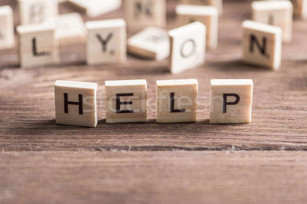 Concept of help and assistance Stock photo © adam121