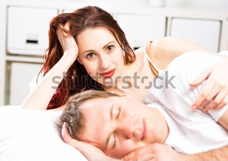 Stock photo: relationship problems people