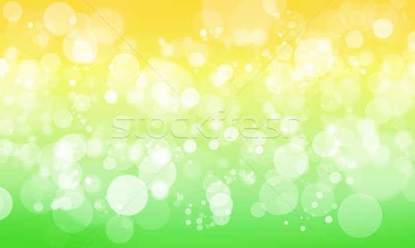Bokeh streszczenie kolor zamazany światła śniegu Zdjęcia stock © adam121