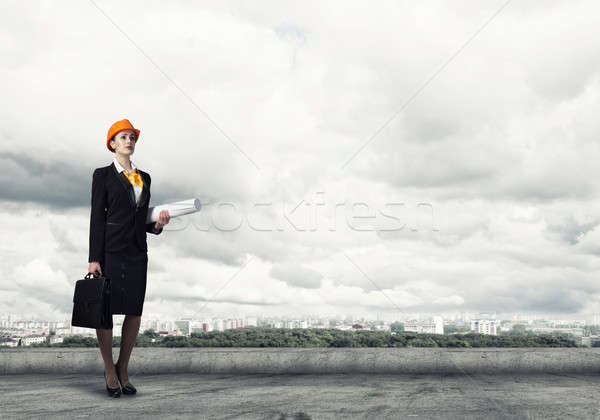 Female engineer Stock photo © adam121