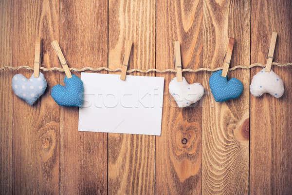 написать слов любви лист бумаги стороны Сток-фото © adam121