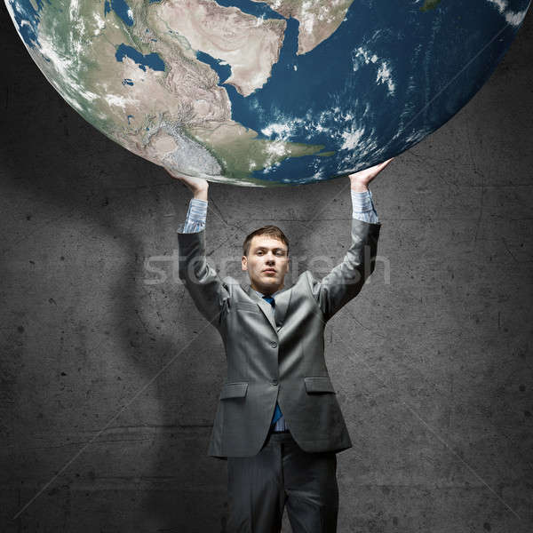 Safe our planet Stock photo © adam121