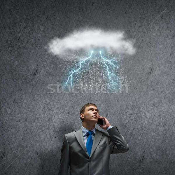 Challenge in business Stock photo © adam121